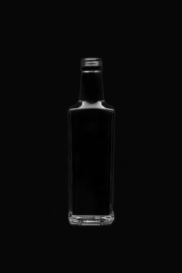 1.3 Glass bottle «Granite V»