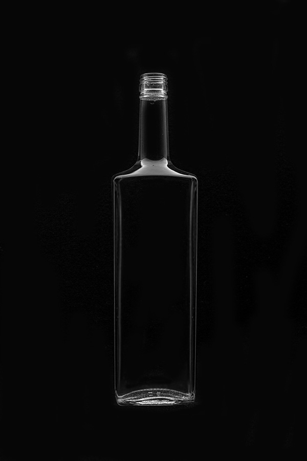 1.5 Glass bottle «Granite V»