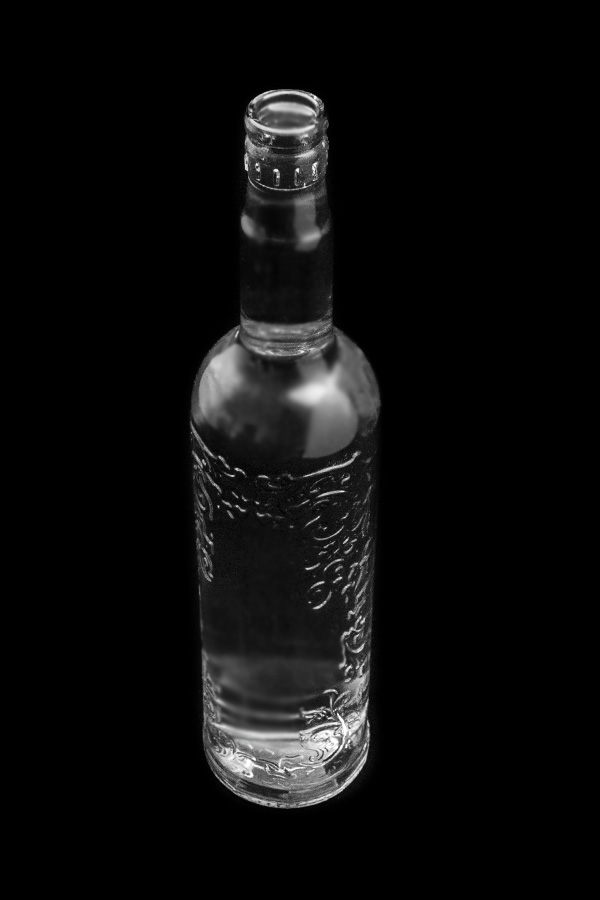 2.Glass bottle «Styoklyishko»