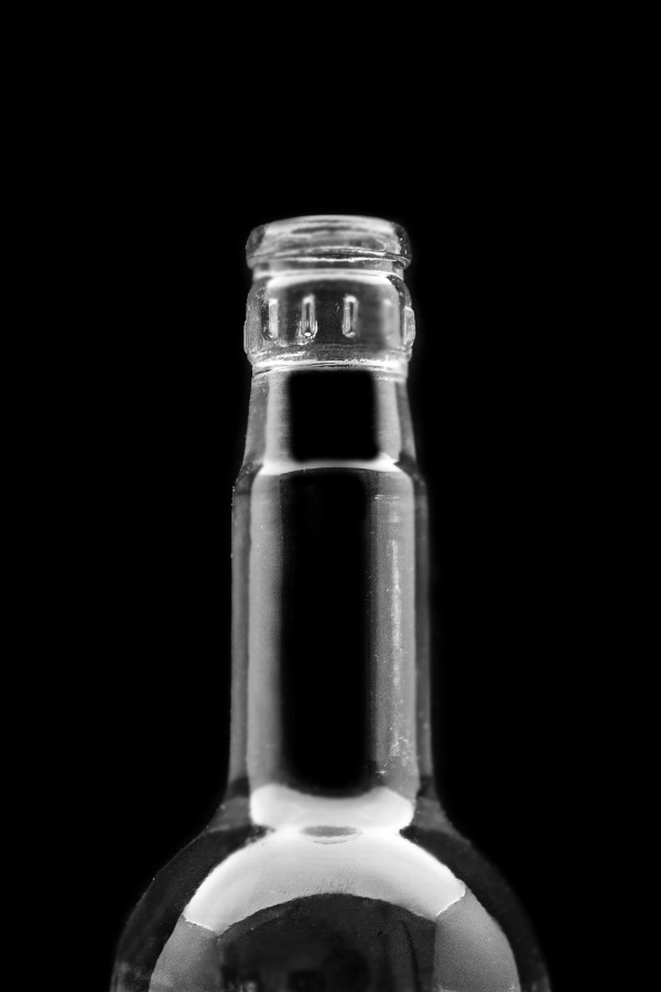 3.Glass bottle «Styoklyishko»