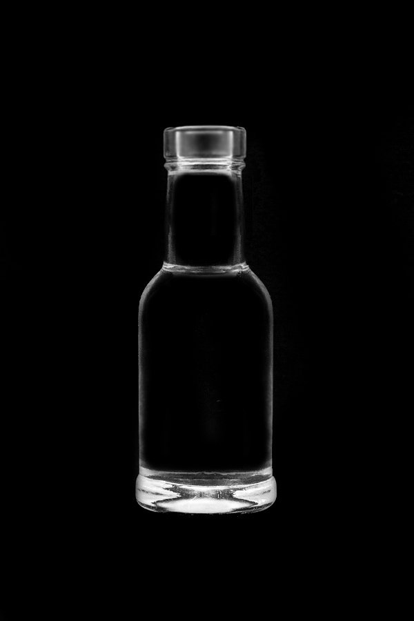 2.Glass bottle «Domashnyaya P»