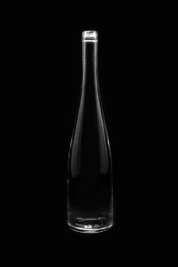 5.Glass bottle «Roxa V»