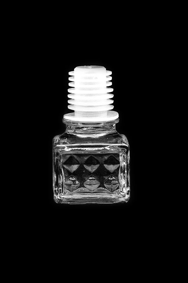 "Glass stopper ""Pyramid"""